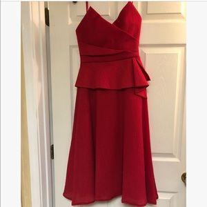 BCBG Max Azaria Tessa Strapless dress
